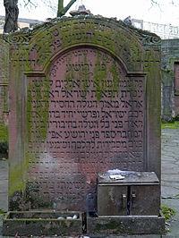 Cemetery-Battonnstrasse-GS-0082-0480-R. Jaakow Jehoschua (Pne Jehoschua) (16.01.1756).jpg