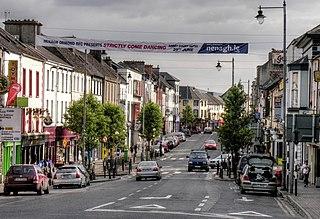 Nenagh Town in Munster, Ireland