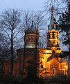 Cerkiew Wiary Nadziei i Milosci w Sosnowcu wieczor.jpg