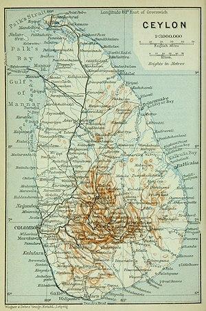 British Ceylon - British Ceylon, ca 1914