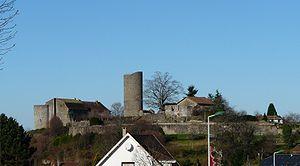 Château de Châlus-Chabrol - Image: Châlus château (1)
