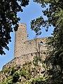 Château d'Andlau, vu du fossé ouest.jpg