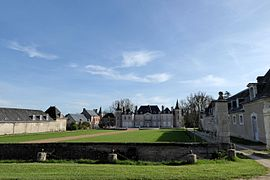 The chateau of Cambray in Germignonville