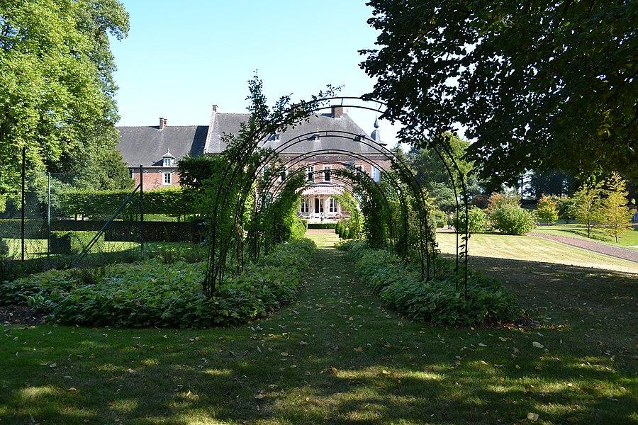 Château de Jodoigne-Souveraine lors des journées du patrimoine 2012