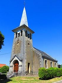 Châtillon-sous-les-Côtes L'église Saint-Martin.JPG
