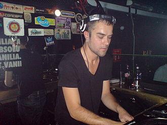Chab - Image: Chab At Continental Dj Club (Mexico City) 2007