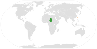 Chad–Taiwan relations Diplomatic relations between the Republic of Chad and Taiwan