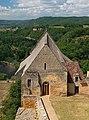 Chapelle vue depuis le Château de Beynac Dordogne 21.jpg