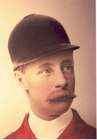 Fox hunting - Charles Brand, a Hunt Master who lived from 1855 to 1912