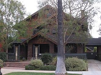 Victoria Park, Los Angeles - Image: Charles Hurd Residence