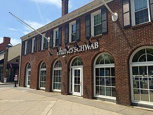 Charles R. Schwab - A Charles Schwab location in Princeton, New Jersey
