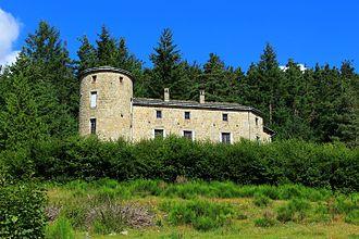 Le Chambon-sur-Lignon - The Pont-de-Mars Castle in Le Chambon-sur-Lignon