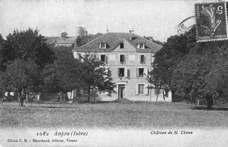 Anjou, Isère - The Chateau of Mr. Chenu