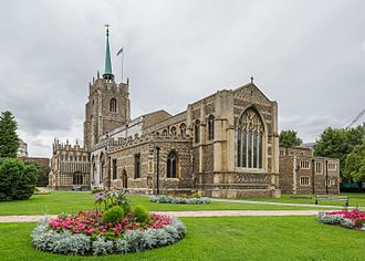 Chelmsford Cathedral - Image: Chelmsford Cathedral Exterior, Essex, UK Diliff