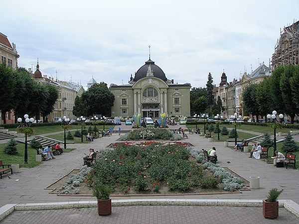 Pictures of Chernivtsi