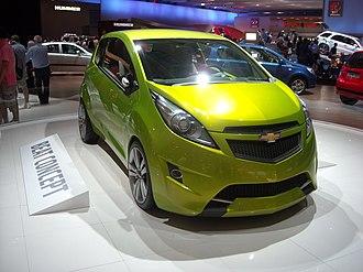 Chevrolet Spark - Chevrolet Beat concept