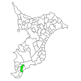 Maruyama, Chiba Former municipality in Kantō, Japan