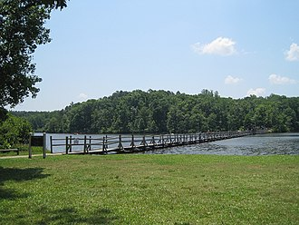 Chickasaw State Park (Tennessee) - Image: Chickasaw State Park Chester County TN 034