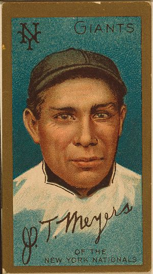 "Cahuilla - John Tortes ""Chief"" Meyers was a catcher in major league baseball"