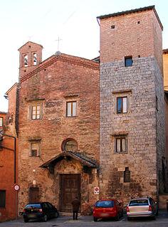 Carceri di SantAnsano, Siena church in Siena