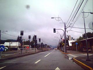Chiguayante City and Commune in Biobío, Chile