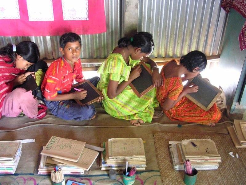 Children in rural school