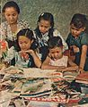 Children looking at magazines, Know Indonesia... Know Your Friend, p1.jpg