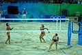 China & USA Beach Volleyball 2008 Olympic Games Quarterfinals 2.jpg