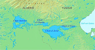 Djerid - Image: Chott el Jerid