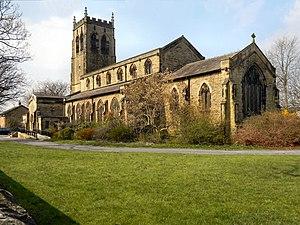 Pennington, Greater Manchester - Image: Christ Church, Pennington