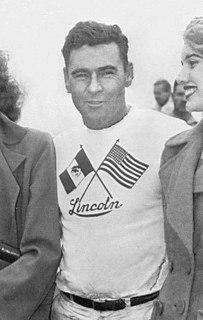 Chuck Stevenson racecar driver