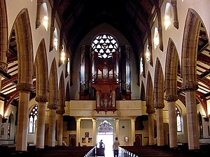 Christ Church Cathedral (Montreal) - The interior of the present Christ Church Cathedral.