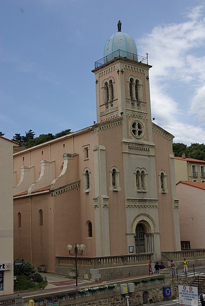 Fichier:Church of Port-Vendres.jpg