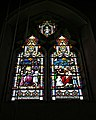 Church of St Andrew, Nuthurst, West Sussex - Ommanney stained glass window.jpg