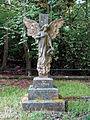 Church of the Holy Innocents, High Beach, Essex, England - churchyard Dawson monument.jpg