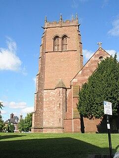 Church in Shropshire, England