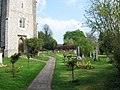 Churchyard, St Michael's Halton - geograph.org.uk - 1294117.jpg