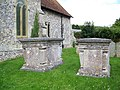 Churchyard, St Peter's Church, Shipton Bellinger - geograph.org.uk - 898473.jpg