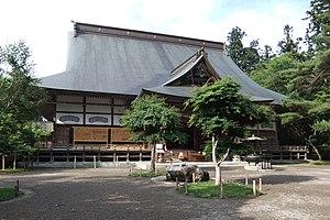 Chūson-ji - Image: Chuson ji Hondo 02