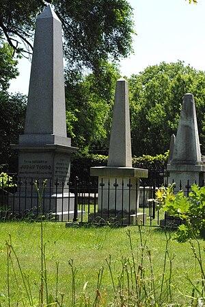 Touro Cemetery - Judah Touro's Tomb in Newport Jewish Cemetery