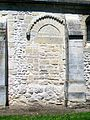Cinqueux (60), église Saint-Martin, ancien portail roman, rue Yvonne Drouin.jpg