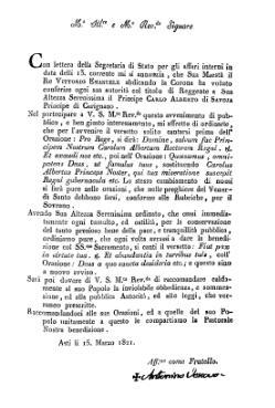 Indice circolare 15 marzo 1821 fa di bruno djvu wikisource - Testo i giardini di marzo ...