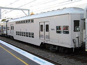 Tulloch Limited - Double deck trailer at Sydenham in July 2003