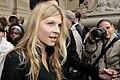 Clémence Poésy, People au Défilé Channel, Printemps-Eté 2010b.jpg