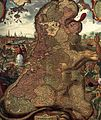 Claes Jansz. Visscher (II) - Lion Map (Leo Belgicus) (detail) - WGA25146.jpg