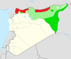 Claimed and de facto territory of Rojava.png