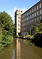 Clarence Mill, Macclesfield Canal, Bollington, Cheshire - geograph.org.uk - 568780.jpg