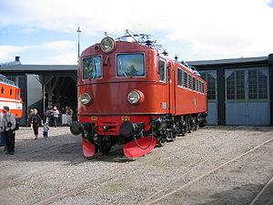 SJ F - F 621 at the Swedish Railway Museum