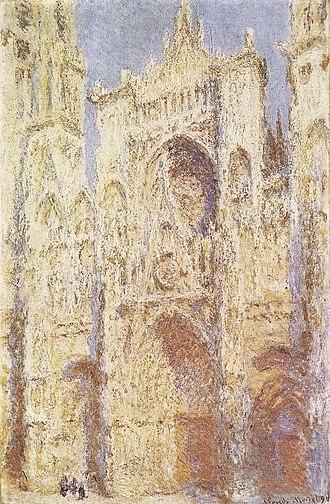 Rouen Cathedral (Monet series) - Image: Claude Monet La Cathédrale de Rouen, Le Portail au Soleil