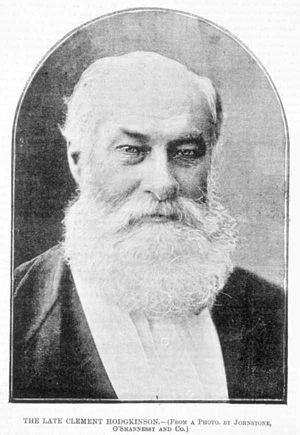 Clement Hodgkinson - Image: Clement Hodgkinson, c.1893